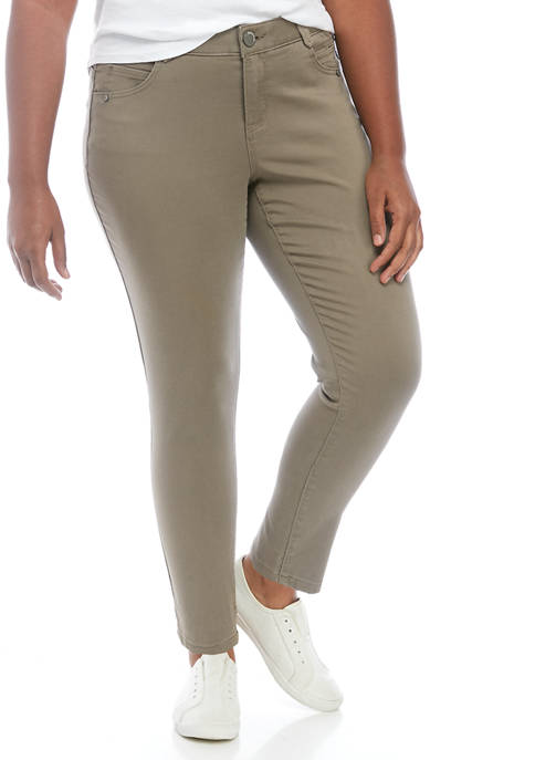 Democracy Plus Size Absolution Ankle Length Pants