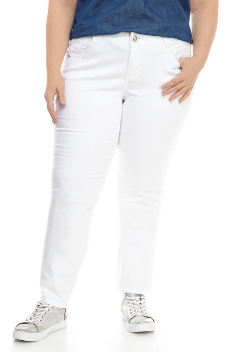 Democracy Plus Size Absolution Straight Leg Jeans