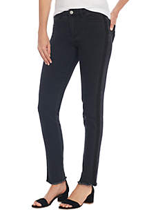 Tuxedo Stripe Skinny Pants