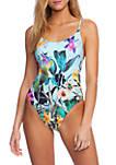 Bloomin Botanical Goddess One-Piece Swimsuit