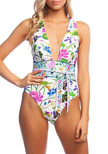 nanette NANETTE LEPORE™ Opulant Garden Belle One-Piece Swimsuit