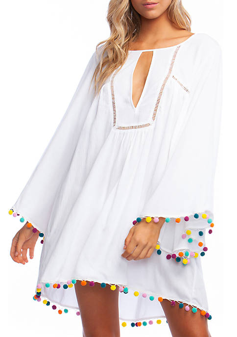 Jazzy Cover Open Back Swim Tunic