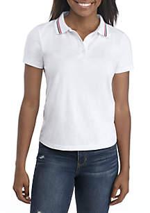 Short Sleeve Polo Top