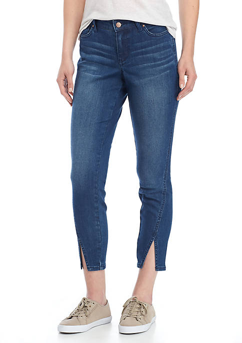 Crown & Ivy™ Skinny Split Hem Jean