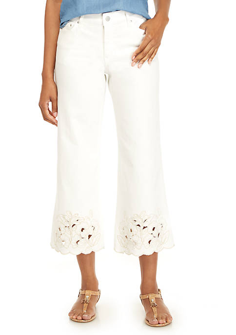 Crown & Ivy™ Wide Leg Culotte Pants