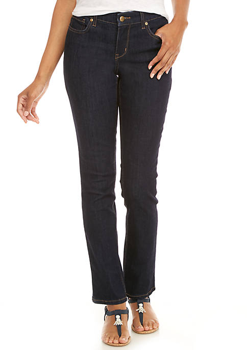 Crown & Ivy™ Straight Leg Jeans
