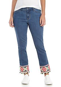 Wide Leg Cha-Cha Crop Jeans