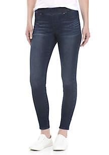 Petite Skinny Pull-On Jeans