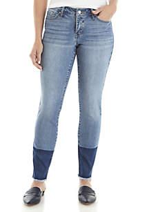 Crown & Ivy™ 2 Tone Skinny Jeans