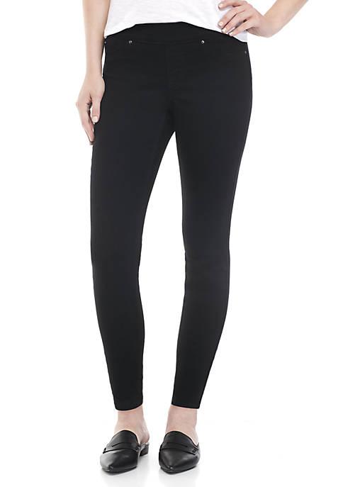 Crown & Ivy™ Petite Pull-On Skinny Jeans