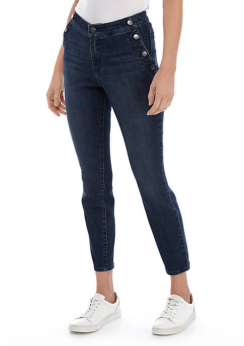 Sailor Crop Skinny Jeans