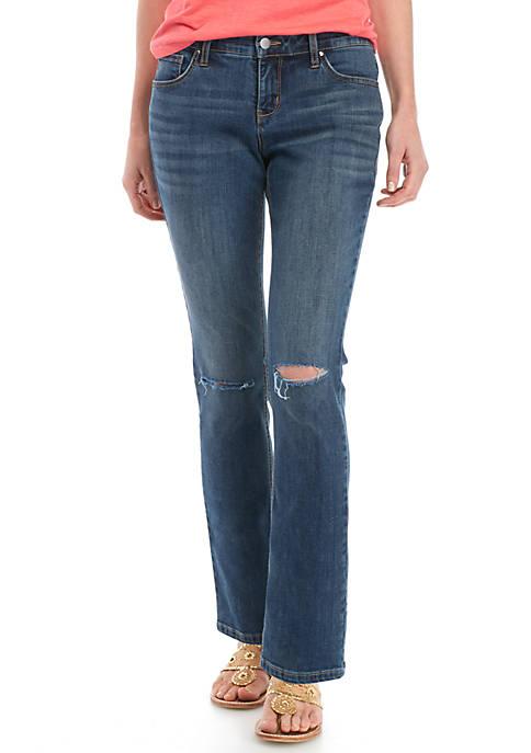Womens Straight Leg Jeans