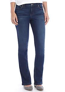 Crown & Ivy™ Straight Leg Jean