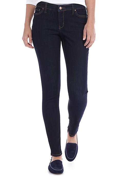 Crown & Ivy™ Cigarette Skinny Short Jeans