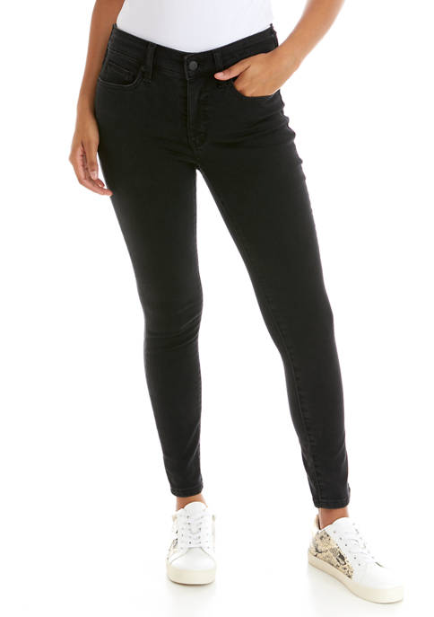 Crown & Ivy™ Womens Mid Rise Skinny Short