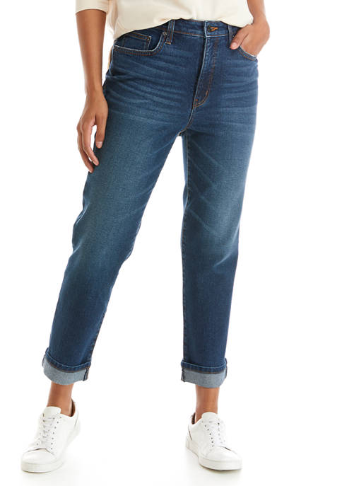 Crown & Ivy™ Womens High Rise Vintage Straight
