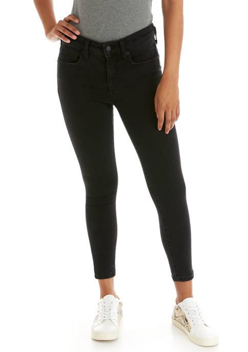 Crown & Ivy™ Petite Mid Rise Skinny Jeans
