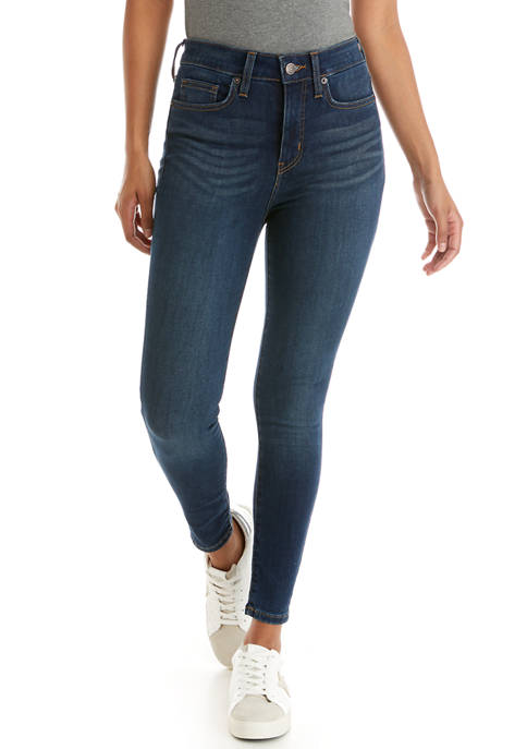 Crown & Ivy™ Petite High Rise Skinny Jeans
