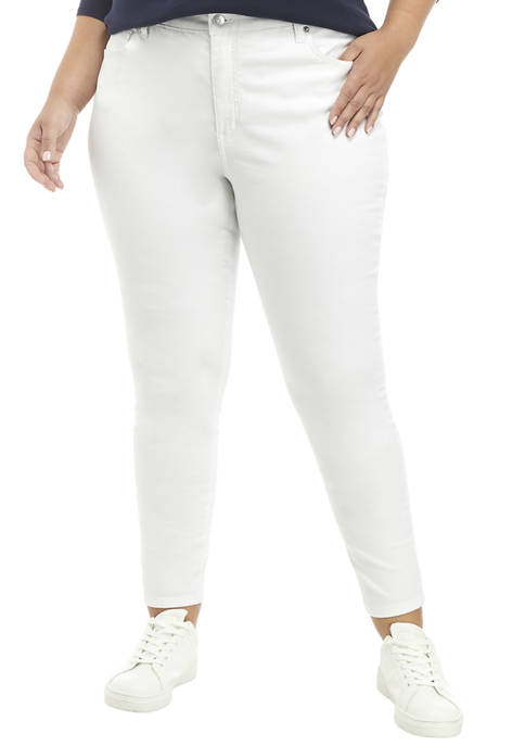 Crown & Ivy™ Plus Size High Rise Skinny