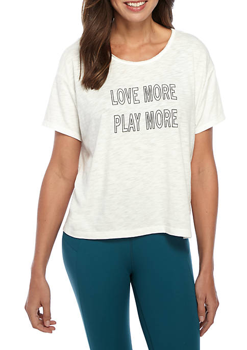 nanette NANETTE LEPORE™ Boxy Fit Short Sleeve Graphic