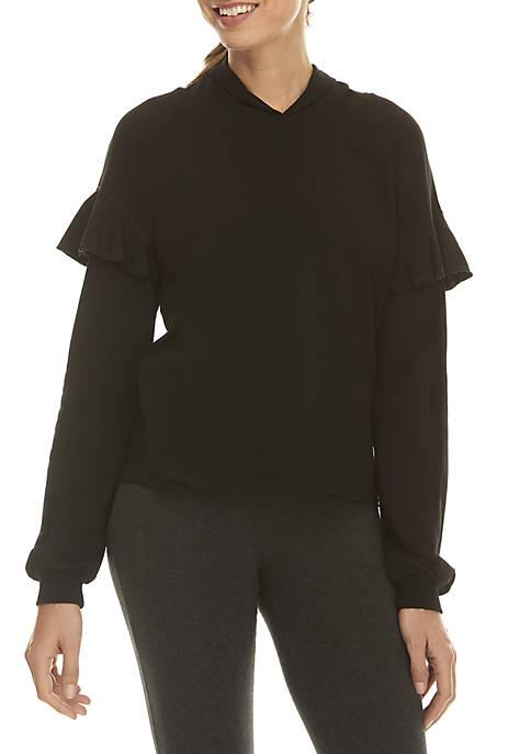 nanette NANETTE LEPORE™ Ruffle Sleeve Hoodie