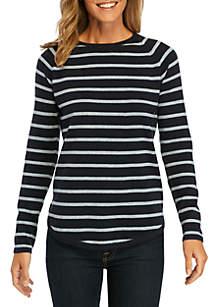 Stripe Crew Sweater