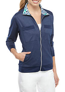 0dd0f43c3a811 New Directions® Linen Side Lace Vest · PEBBLE BEACH™ Full Zip Jacket