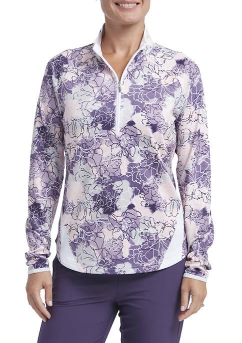 Womens Jersey 1/4 Zip Pullover