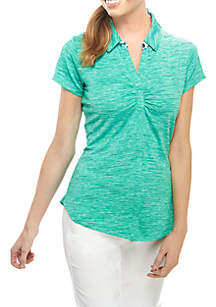 PEBBLE BEACH™ Solid Short Sleeve Polo