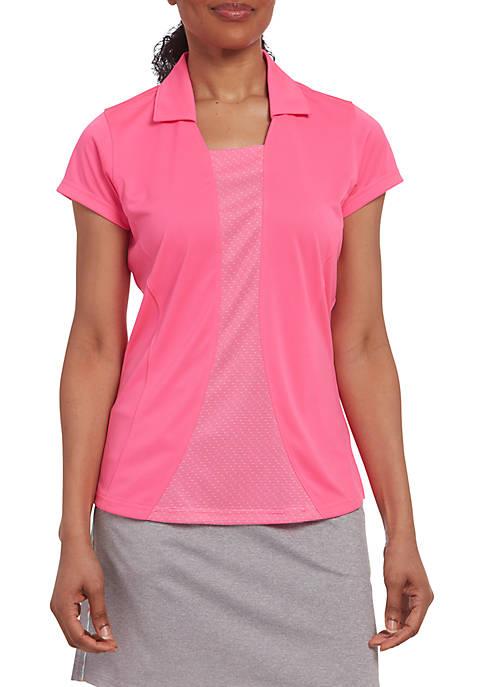 PEBBLE BEACH™ Solid Jersey Short Sleeve Polo