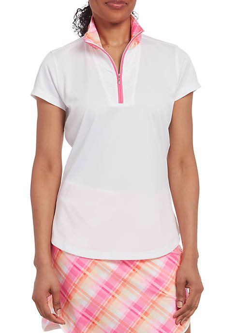 PEBBLE BEACH™ Birdsevey Short Sleeve Polo