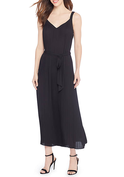 THE LIMITED Pleated Maxi Dress