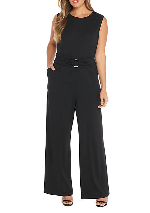 THE LIMITED Plus Size D-Ring Belt Jumpsuit