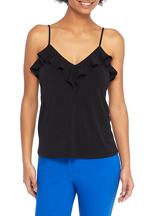 THE LIMITED Ruffle Front Cami