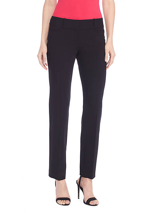The New Drew Straight Pant in Modern Stretch - Petite