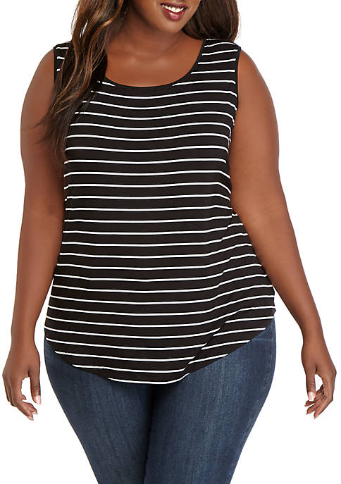 Plus Size Shell Top