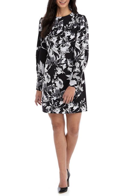 THE LIMITED Womens Modern Stretch Pleated Sleeve Dress