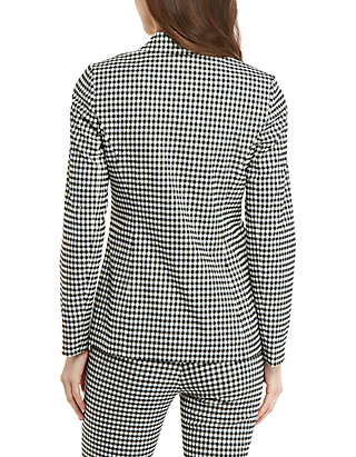 7e695504bd0ed THE LIMITED 2 Button Blazer in Gingham | belk