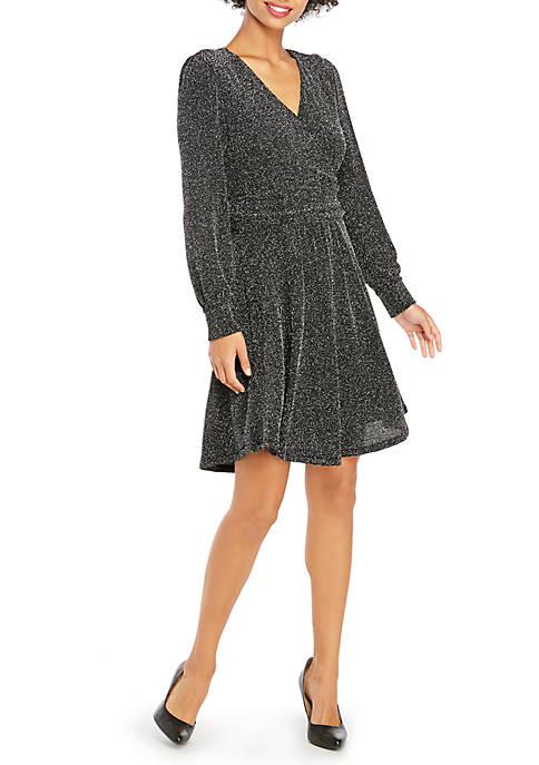 Petite Twinkle Knit Dress