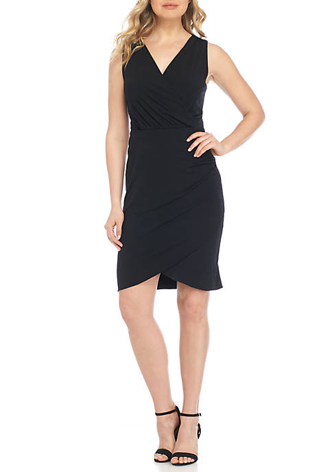 THE LIMITED Sleeveless Faux Wrap Dress