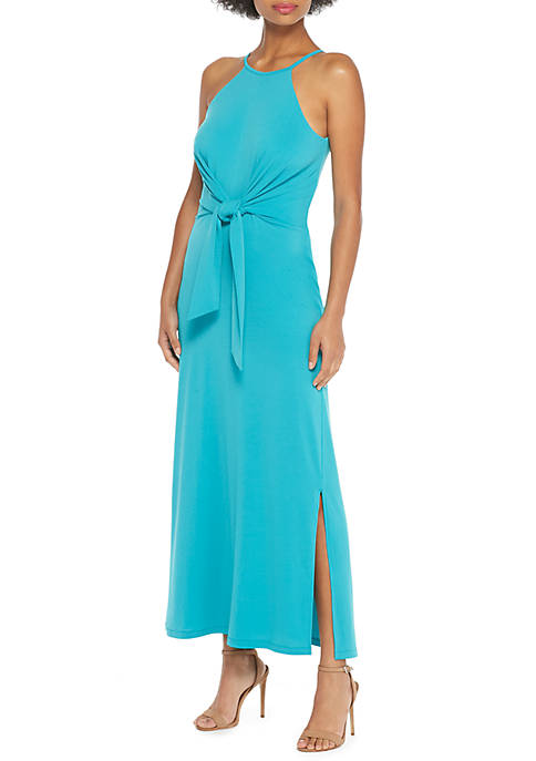 THE LIMITED Halter Tie Front Dress
