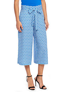 Signature Culotte in Crepe