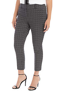 THE LIMITED Plus Size Signature Ankle Pants in Exact Stretch