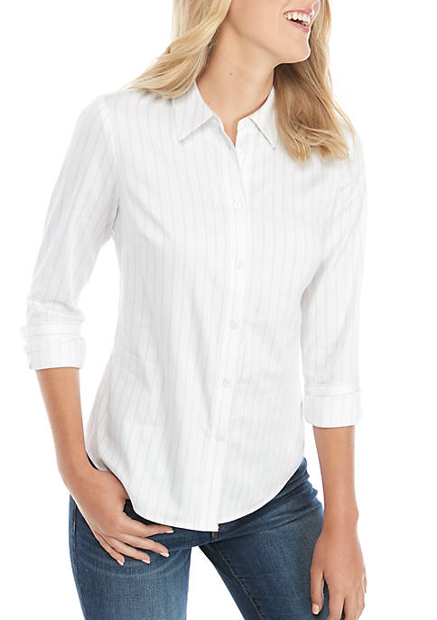 Petite Fitted Classic Shirt