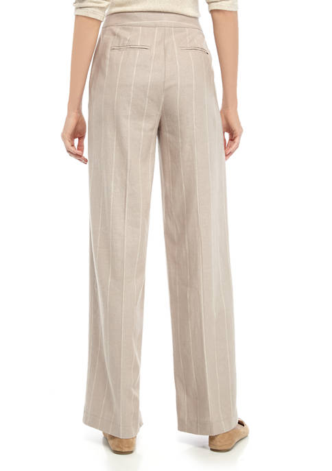 THE LIMITED Womens Wide Leg Pants