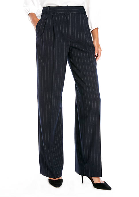 THE LIMITED Petite High Rise Wide Leg Pants