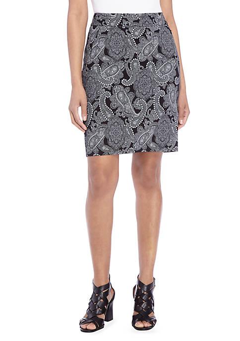 Petite Exact Stretch Skirt