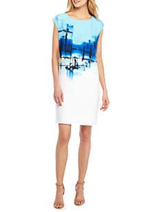 Seascape Shift Dress