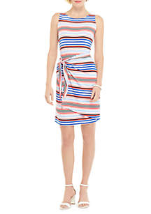 THE LIMITED Petite Sleeveless Sarong Tie Dress
