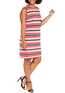 Plus Size Reversible Shift Dress
